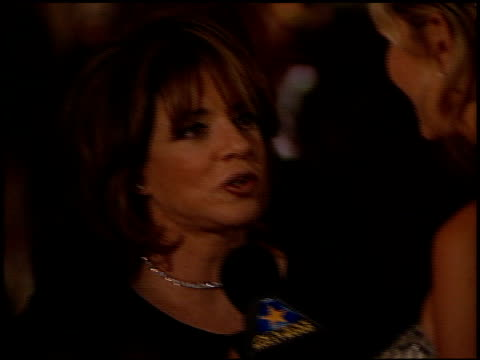 Stockard Channing at the American Cinematheque Ball at the Egyptian Theatre in Hollywood California on October 9 1999