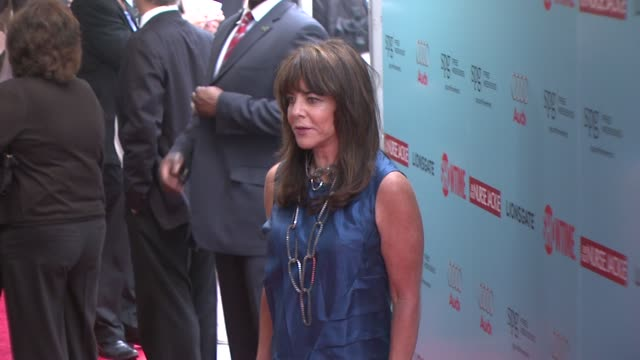 stockard channing at the world premiere of showtime's 'nurse jackie' at new york ny - nurse jackie video stock e b–roll
