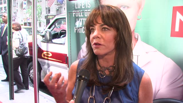 stockard channing on supporting edie and what she thinks edie will bring to the role at the world premiere of showtime's 'nurse jackie' at new york ny - nurse jackie video stock e b–roll