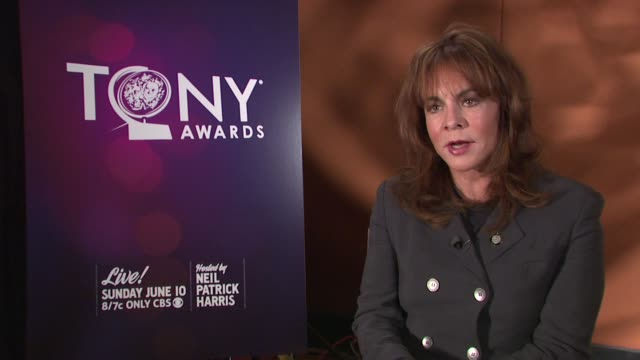 Stockard Channing on the journey of the play Other Desert Cities on at 2012 Tony Awards Meet The Nominees Press Reception at The Millenium Broadway...