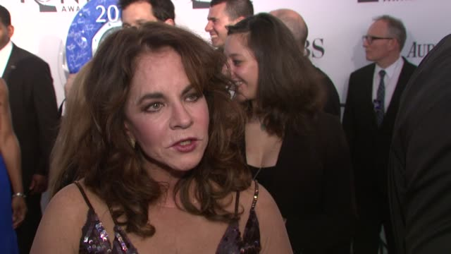 Stockard Channing on what the awards mean to her at 66th Annual Tony Awards Red Carpet at The Beacon Theatre on June 10 2012 in New York New York