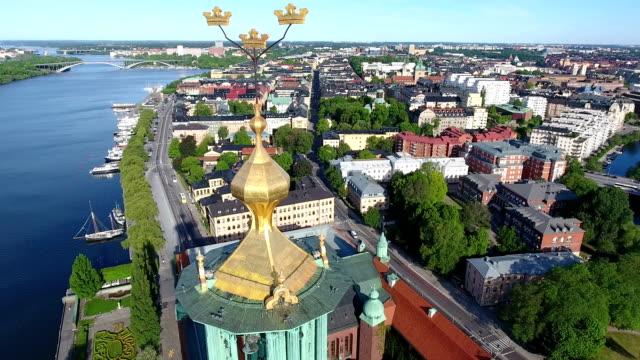 stockholm-antenn - stockholm bildbanksvideor och videomaterial från bakom kulisserna