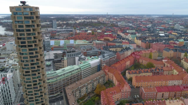 stockholm aerial view - sweden stock videos & royalty-free footage