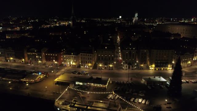 stockholm aerial view - remus kotsell bildbanksvideor och videomaterial från bakom kulisserna