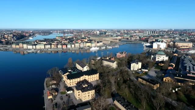 Luchtfoto van Stockholm