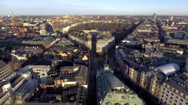 stockholm flygfoto - stockholm bildbanksvideor och videomaterial från bakom kulisserna