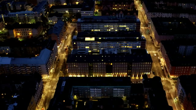 AERIAL: Stockholm at dawn