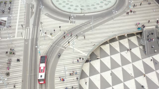 stockholm city seen from above, cityscape, sergels torg - air vehicle stock videos & royalty-free footage