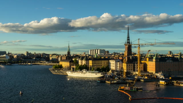 Stockholm City Time Lapse