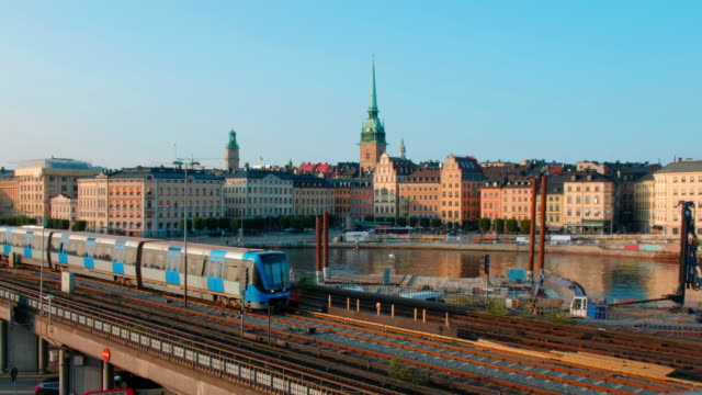 stockholm cityscape - old town stock videos & royalty-free footage