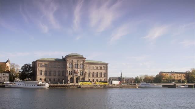 vídeos de stock, filmes e b-roll de stockholm national museum stockholm sweden. - cultura sueca