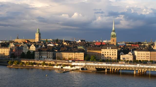 Stockholm Old Town Skyline