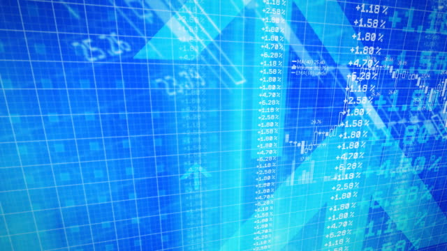 Stocks and Financial Data - HD Video