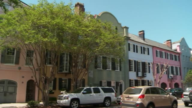 Stockshots of Charleston the oldest and second largest city in the State of South Carolina