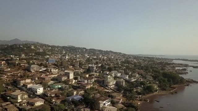 stockshots of freetown capital of sierra leone as the west african nation gears up to presidential runoff election - runoff election stock videos & royalty-free footage
