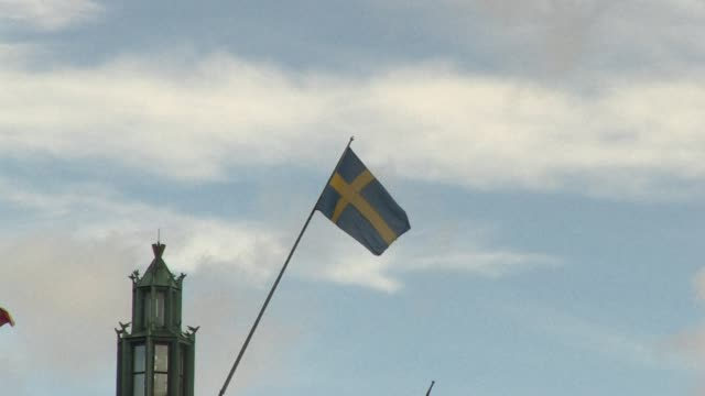 vídeos de stock e filmes b-roll de stockshots of stockholm the capital of sweden images showing political institutions and daily life stockholm sweden - política e governo