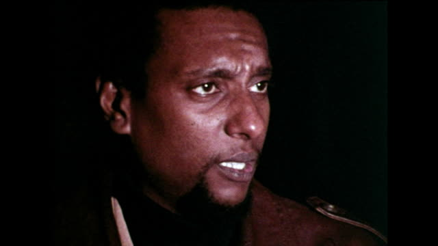 stokely carmichael sating that he respects martin luther king and what he has achieved despite their differing approaches in the civil rights... - afroamerikansk historia i usa bildbanksvideor och videomaterial från bakom kulisserna