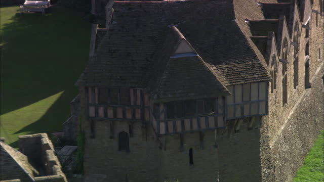 stokesay castle - stokesay castle stock videos and b-roll footage