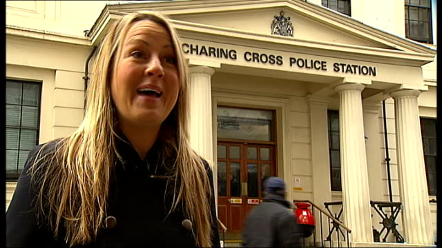 stolen charity fibreglass egg recovered by police england london charing cross polcie station ext police officer handing recovered large fibreglass... - fibreglass stock videos and b-roll footage