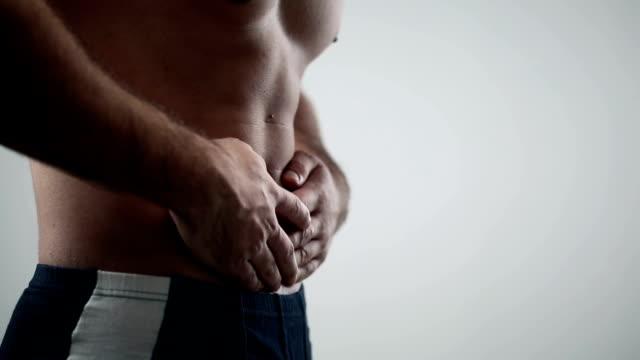 stomachache - människoryggrad bildbanksvideor och videomaterial från bakom kulisserna