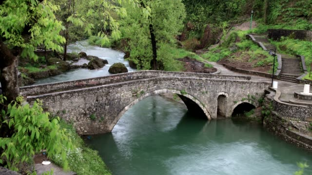 stone bridge in podgorica (high angle wiew) - 1946 stock videos & royalty-free footage