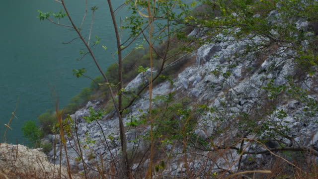 stone canyon at chonburi province in thailand - chonburi province stock videos & royalty-free footage