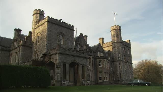 MS, Stone castle, Oban, Scotland, United Kingdom