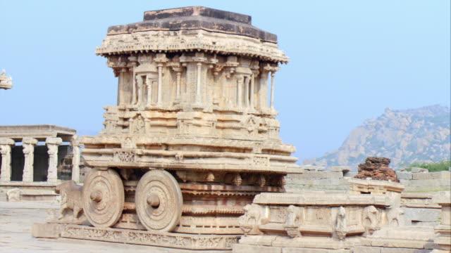 Stone Chariot At Hampi Unesco World Heritage