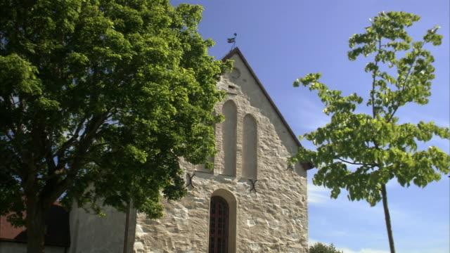 a stone church sweden. - kyrka bildbanksvideor och videomaterial från bakom kulisserna