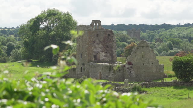 stone ruins in ireland - imperfection stock videos & royalty-free footage