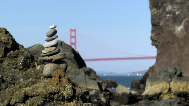 stone towers. - san francisco bay area stock videos and b-roll footage