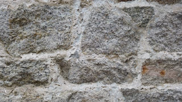 stone wall close-up - wall building feature stock videos & royalty-free footage