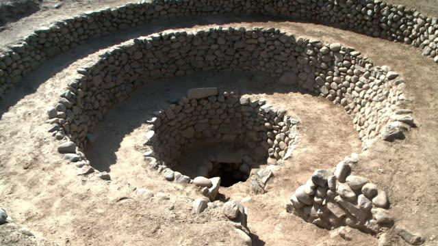 Stone walls in Nazca, Peru