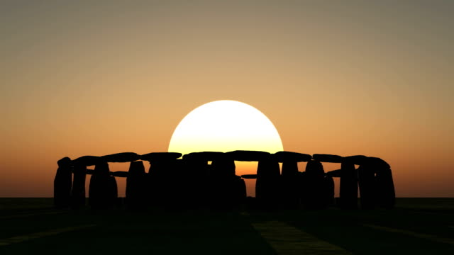 stonehenge at sunrise - obelisk stock videos & royalty-free footage