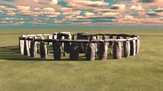 stonehenge - rotation - stonehenge stock videos and b-roll footage