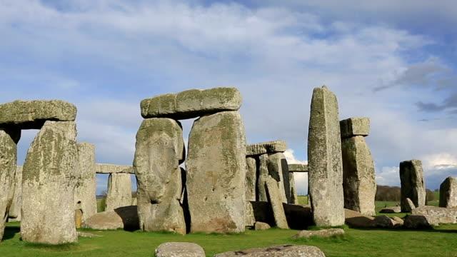stonehenge, salisbury plain, wiltshire, england - stonehenge stock videos and b-roll footage