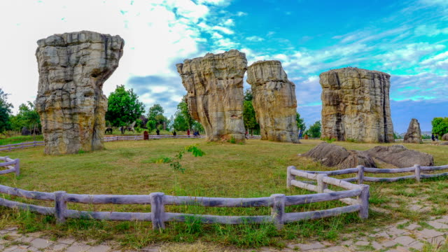 stonehenge thailand - obelisk stock videos & royalty-free footage