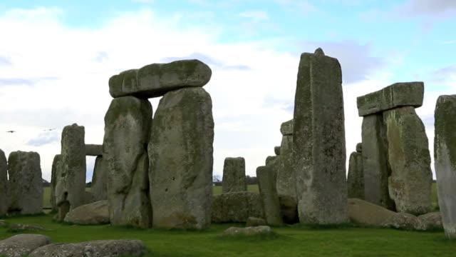 stonehenge time lapse, salisbury plain, wiltshire, england - stonehenge stock videos and b-roll footage