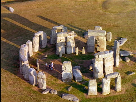 AERIAL Stonehenge / Wiltshire, England