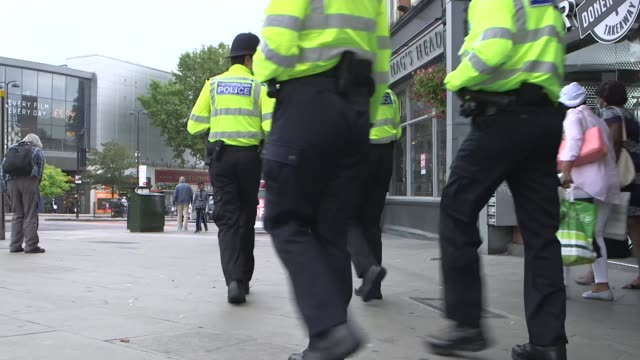 stop and search figures highest in seven years, with higher proportion still among black communities; england: london: int car dr victor olisa... - searching stock videos & royalty-free footage
