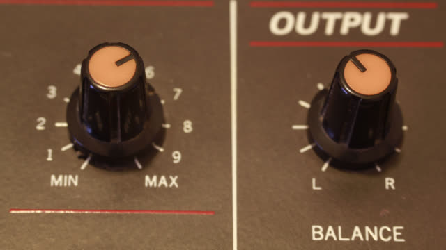 stop motion analog mixer audio output - food processor stock videos and b-roll footage