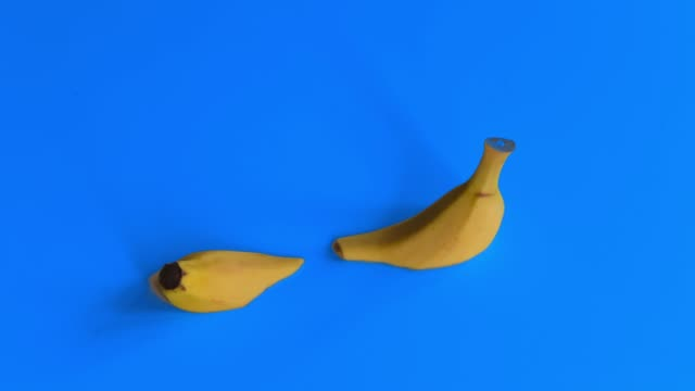 stop motion animation about melted banana - banana stock videos & royalty-free footage
