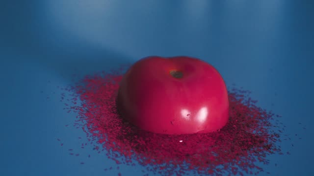stop motion animation about melted tomato - juicy stock videos & royalty-free footage