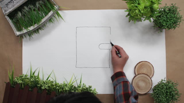 Stop motion animation for symbolic representation of summer