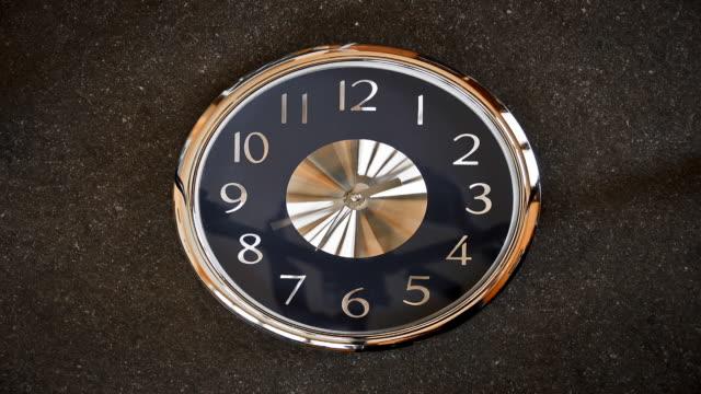 stop motion clock - bak och fram bildbanksvideor och videomaterial från bakom kulisserna