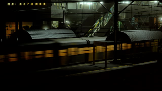 stop motion commuter train, in the mist cape town, south africa - suspicion stock videos & royalty-free footage