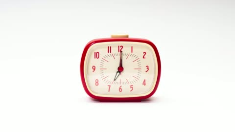 stop motion of alarm clock - time stock videos & royalty-free footage