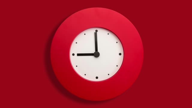 stop motion of clock - clock stock videos & royalty-free footage
