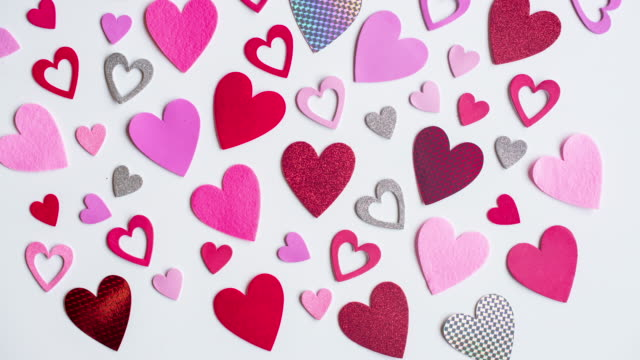 Stop Motion of Hearts
