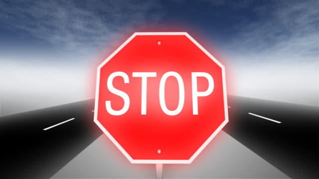 stop sign road - stop sign stock videos and b-roll footage